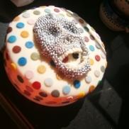 Damien Hirst skullcake