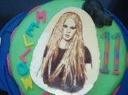 Avril Lavigne in chocola